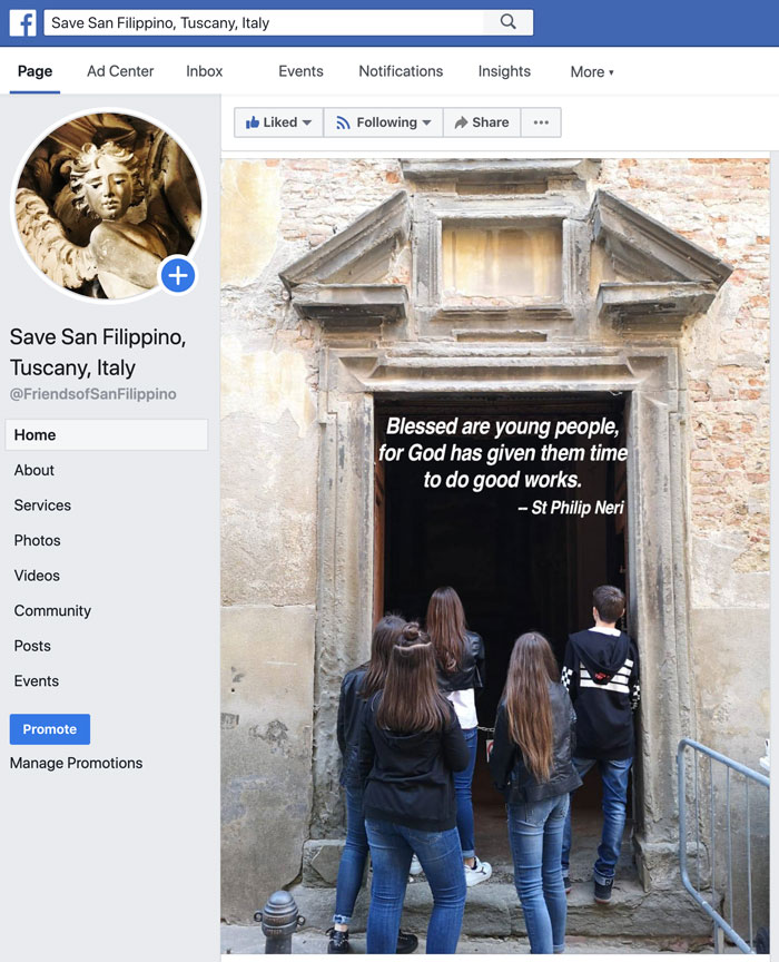 Facebook for website